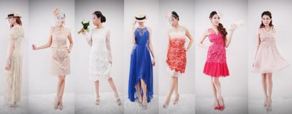 Classy Lace Dress - ชุดราตรีลายลูกไม้