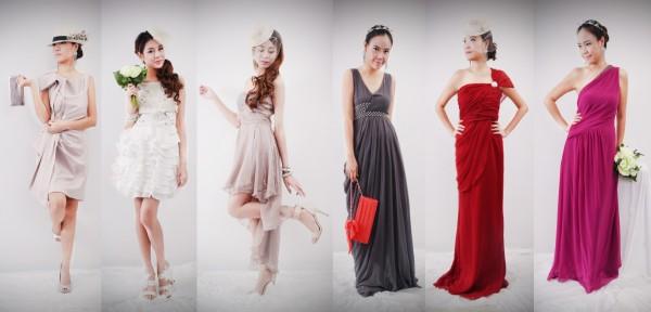 Fashionable Style Dress - ชุดราตรีสไตล์แฟชั่น