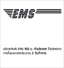 บริการจัดส่ง EMS 100 บาท ทั่วประเทศ